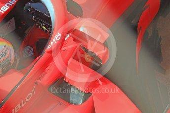 World © Octane Photographic Ltd. Formula 1 – In season test 1, day 1. Scuderia Ferrari SF71-H – Sebastian Vettel. Circuit de Barcelona-Catalunya, Spain. Tuesday 15th May 2018.