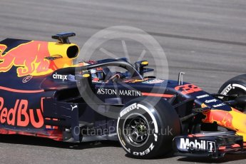 World © Octane Photographic Ltd. Formula 1 – In season test 1, day 1. Aston Martin Red Bull Racing TAG Heuer RB14 – Max Verstappen. Circuit de Barcelona-Catalunya, Spain. Tuesday 15th May 2018.