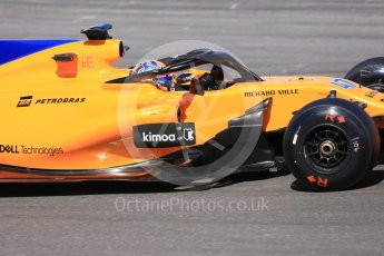 World © Octane Photographic Ltd. Formula 1 – In season test 1, day 1. McLaren MCL33 – Lando Norris. Circuit de Barcelona-Catalunya, Spain. Tuesday 15th May 2018.