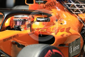 World © Octane Photographic Ltd. Formula 1 – In season test 1, day 1. McLaren MCL33 – Stoffel Vandoorne. Circuit de Barcelona-Catalunya, Spain. Tuesday 15th May 2018.