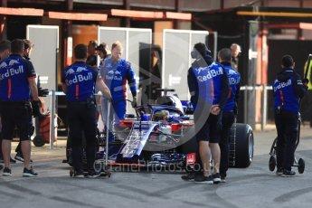 World © Octane Photographic Ltd. Formula 1 – In season test 1, day 1. Scuderia Toro Rosso STR13 – Sean Gelael. Circuit de Barcelona-Catalunya, Spain. Tuesday 15th May 2018.