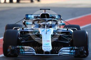 World © Octane Photographic Ltd. Formula 1 – In season test 1, day 2. Mercedes AMG Petronas Motorsport AMG F1 W09 EQ Power+ - Valtteri ottas. Circuit de Barcelona-Catalunya, Spain. Wednesday 16th May 2018.