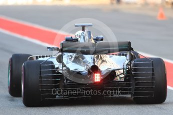 World © Octane Photographic Ltd. Formula 1 – In season test 1, day 2. Mercedes AMG Petronas Motorsport AMG F1 W09 EQ Power+ - Valtteri ottas. Circuit de Barcelona-Catalunya, Spain. Wednesday 16th May 2018.