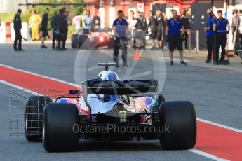 World © Octane Photographic Ltd. Formula 1 – In season test 1, day 2. Scuderia Toro Rosso STR13 – Sean Gelael. Circuit de Barcelona-Catalunya, Spain. Wednesday 16th May 2018.