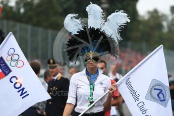World © Octane Photographic Ltd. Formula 1 – Italian GP - Drivers Parade. Atmosphere. Autodromo Nazionale di Monza, Monza, Italy. Sunday 2nd September 2018.