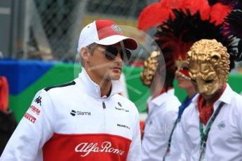 World © Octane Photographic Ltd. Formula 1 – Italian GP - Drivers Parade. Alfa Romeo Sauber F1 Team C37 – Marcus Ericsson. Autodromo Nazionale di Monza, Monza, Italy. Sunday 2nd September 2018.