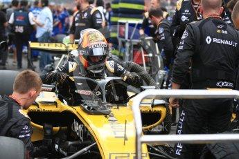 World © Octane Photographic Ltd. Formula 1 – Italian GP - Grid. Renault Sport F1 Team RS18 – Carlos Sainz. Autodromo Nazionale di Monza, Monza, Italy. Sunday 2nd September 2018.