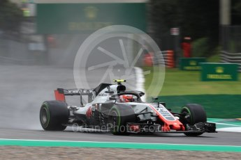World © Octane Photographic Ltd. Formula 1 – Italian GP - Practice 1. Haas F1 Team VF-18 – Kevin Magnussen. Autodromo Nazionale di Monza, Monza, Italy. Friday 31st August 2018.