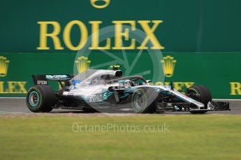 World © Octane Photographic Ltd. Formula 1 – Italian GP - Practice 1. Mercedes AMG Petronas Motorsport AMG F1 W09 EQ Power+ - Valtteri Bottas. Autodromo Nazionale di Monza, Monza, Italy. Friday 31st August 2018.