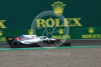 World © Octane Photographic Ltd. Formula 1 – Italian GP - Practice 1. Williams Martini Racing FW41 – Lance Stroll. Autodromo Nazionale di Monza, Monza, Italy. Friday 31st August 2018.