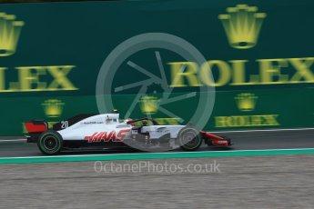 World © Octane Photographic Ltd. Formula 1 – Italian GP - Practice 1. Haas F1 Team VF-18 – Kevin Magnussen. Autodromo Nazionale di Monza, Monza, Italy. Friday 31st August 2018.