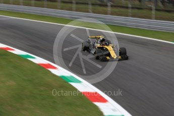 World © Octane Photographic Ltd. Formula 1 – Italian GP - Practice 2. Renault Sport F1 Team RS18 – Carlos Sainz. Autodromo Nazionale di Monza, Monza, Italy. Friday 31st August 2018.