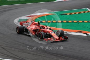 World © Octane Photographic Ltd. Formula 1 – Italian GP - Qualifying. Scuderia Ferrari SF71-H – Kimi Raikkonen. Autodromo Nazionale di Monza, Monza, Italy. Saturday 1st September 2018.