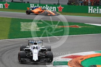 World © Octane Photographic Ltd. Formula 1 – Italian GP - Race. Williams Martini Racing FW41 – Lance Stroll. Autodromo Nazionale di Monza, Monza, Italy. Sunday 2nd September 2018.
