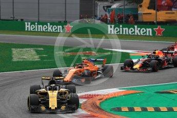 World © Octane Photographic Ltd. Formula 1 – Italian GP - Race. Renault Sport F1 Team RS18 – Nico Hulkenberg. Autodromo Nazionale di Monza, Monza, Italy. Sunday 2nd September 2018.