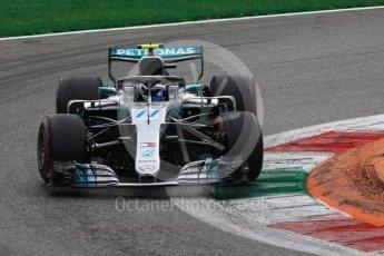 World © Octane Photographic Ltd. Formula 1 – Italian GP - Race. Mercedes AMG Petronas Motorsport AMG F1 W09 EQ Power+ - Valtteri Bottas. Autodromo Nazionale di Monza, Monza, Italy. Sunday 2nd September 2018.