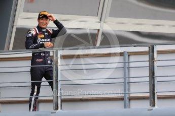 World © Octane Photographic Ltd. FIA Formula 2 (F2)  – Italian GP - Race 1. Russian Time - Tadasuke Makin. Autodromo Nazionale di Monza, Monza, Italy. Saturday 1st September 2018