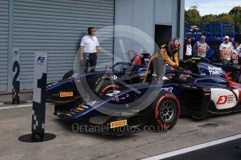 World © Octane Photographic Ltd. FIA Formula 2 (F2)  – Italian GP - Race 1. Russian Time - Artem Markelov and Tadasuke Makin. Autodromo Nazionale di Monza, Monza, Italy. Saturday 1st September 2018