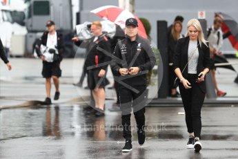 World © Octane Photographic Ltd. Formula 1 – Italian GP - Paddock. Mercedes AMG Petronas Motorsport AMG F1 W09 EQ Power+ - Valtteri Bottas. Autodromo Nazionale di Monza, Monza, Italy. Friday 31st August 2018.