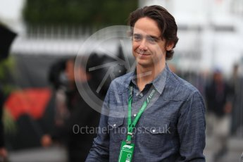 World © Octane Photographic Ltd. Formula 1 – Italian GP - Paddock. Esteban Gutierrez. Autodromo Nazionale di Monza, Monza, Italy. Saturday 1st September 2018.