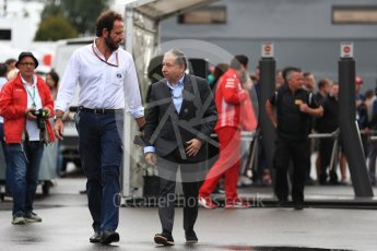 World © Octane Photographic Ltd. Formula 1 - Italian GP - Paddock. Jean Todt – President of FIA. Autodromo Nazionale di Monza, Monza, Italy. Saturday 1st September 2018.