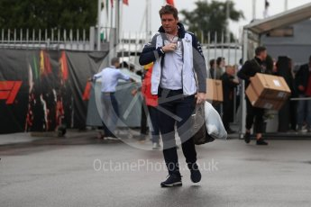 World © Octane Photographic Ltd. Formula 1 - Italian GP - Paddock. Rob Smedley – Head of Performance Engineering. Autodromo Nazionale di Monza, Monza, Italy. Saturday 1st September 2018.