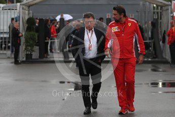 World © Octane Photographic Ltd. Formula 1 - Italian GP - Paddock. Louis Camilleri - CEO of Ferrari and former Chairman of Philip Morris International. Autodromo Nazionale di Monza, Monza, Italy. Saturday 1st September 2018.