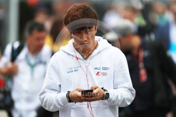 World © Octane Photographic Ltd. Formula 1 – Italian GP - Paddock. Tadasuke Makino. Autodromo Nazionale di Monza, Monza, Italy. Sunday 2nd September 2018.