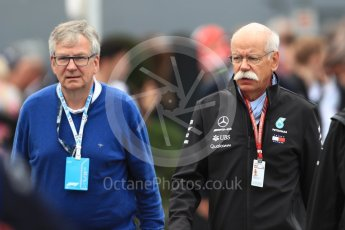 World © Octane Photographic Ltd. Formula 1 - Italian GP – Paddock. Dieter Zetsche – Chairman of the management board of Mercedes - Benz. Autodromo Nazionale di Monza, Monza, Italy. Sunday 2nd September 2018.