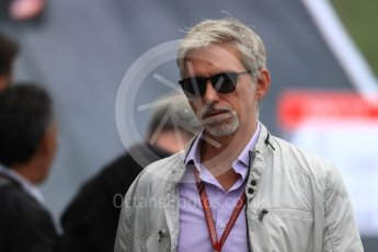 World © Octane Photographic Ltd. Formula 1 - Italian GP – Paddock. Damon Hill. Autodromo Nazionale di Monza, Monza, Italy. Sunday 2nd September 2018.
