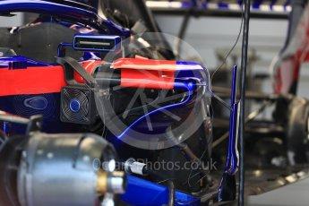 World © Octane Photographic Ltd. Formula 1 – Italian GP - Track Walk. Scuderia Toro Rosso STR13. Autodromo Nazionale di Monza, Monza, Italy. Thursday 30th August 2018.