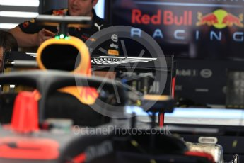 World © Octane Photographic Ltd. Formula 1 – Italian GP - Track Walk. Aston Martin Red Bull Racing TAG Heuer RB14. Autodromo Nazionale di Monza, Monza, Italy. Thursday 30th August 2018.
