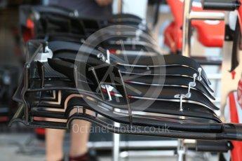 World © Octane Photographic Ltd. Formula 1 – Italian GP - Track Walk. Haas F1 Team VF-18. Autodromo Nazionale di Monza, Monza, Italy. Thursday 30th August 2018.