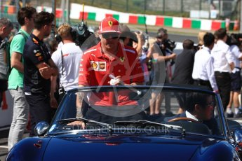 World © Octane Photographic Ltd. Formula 1 – Japanese GP - Drivers Parade. Scuderia Ferrari SF71-H – Kimi Raikkonen. Suzuka Circuit, Japan. Sunday 7th October 2018.