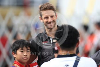World © Octane Photographic Ltd. Formula 1 – Japanese GP - Paddock. Haas F1 Team VF-18 – Romain Grosjean. Suzuka Circuit, Japan. Saturday 6th October 2018.
