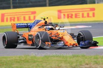 World © Octane Photographic Ltd. Formula 1 – Japanese GP - Practice 1. McLaren MCL33 Reserve Driver – Lando Norris. Suzuka Circuit, Japan. Friday 5th October 2018.