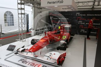 World © Octane Photographic Ltd. Formula 1 – Japanese GP - Practice 1. F1 Legends display - Ferrari F10. Suzuka Circuit, Japan. Friday 5th October 2018.