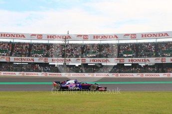 World © Octane Photographic Ltd. Formula 1 – Japanese GP - Practice 2. Scuderia Toro Rosso STR13 – Brendon Hartley. Suzuka Circuit, Japan. Friday 5th October 2018.