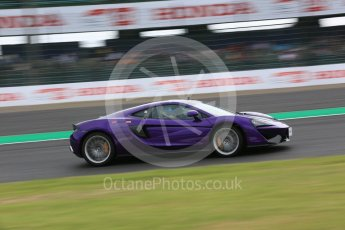 World © Octane Photographic Ltd. Formula 1 – Japanese GP - Practice 2. F1 Hot Laps cars on track prior to the session. Suzuka Circuit, Japan. Friday 5th October 2018.