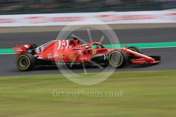 World © Octane Photographic Ltd. Formula 1 – Japanese GP - Practice 2. Scuderia Ferrari SF71-H – Sebastian Vettel. Suzuka Circuit, Japan. Friday 5th October 2018.