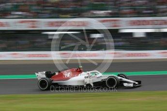 World © Octane Photographic Ltd. Formula 1 – Japanese GP - Practice 2. Alfa Romeo Sauber F1 Team C37 – Charles Leclerc. Suzuka Circuit, Japan. Friday 5th October 2018.