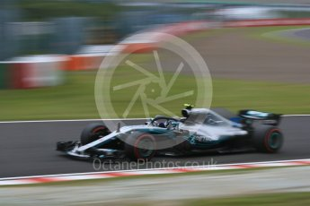 World © Octane Photographic Ltd. Formula 1 – Japanese GP - Practice 3. Mercedes AMG Petronas Motorsport AMG F1 W09 EQ Power+ - Valtteri Bottas. Suzuka Circuit, Japan. Saturday 6th October 2018.