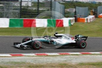 World © Octane Photographic Ltd. Formula 1 – Japanese GP – Practice 3. Mercedes AMG Petronas Motorsport AMG F1 W09 EQ Power+ - Lewis Hamilton. Suzuka Circuit, Japan. Saturday 6th October 2018.