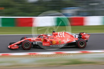 World © Octane Photographic Ltd. Formula 1 – Japanese GP - Practice 3. Scuderia Ferrari SF71-H – Sebastian Vettel. Suzuka Circuit, Japan. Saturday 6th October 2018.