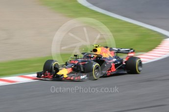 World © Octane Photographic Ltd. Formula 1 – Japanese GP - Practice 3. Aston Martin Red Bull Racing TAG Heuer RB14 – Max Verstappen. Suzuka Circuit, Japan. Saturday 6th October 2018.