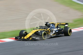 World © Octane Photographic Ltd. Formula 1 – Japanese GP - Practice 3. Renault Sport F1 Team RS18 – Nico Hulkenberg. Suzuka Circuit, Japan. Saturday 6th October 2018.