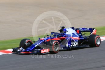 World © Octane Photographic Ltd. Formula 1 – Japanese GP - Practice 3. Scuderia Toro Rosso STR13 – Brendon Hartley. Suzuka Circuit, Japan. Saturday 6th October 2018.
