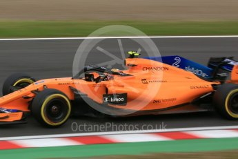 World © Octane Photographic Ltd. Formula 1 – Japanese GP - Practice 3. McLaren MCL33 – Stoffel Vandoorne. Suzuka Circuit, Japan. Saturday 6th October 2018.
