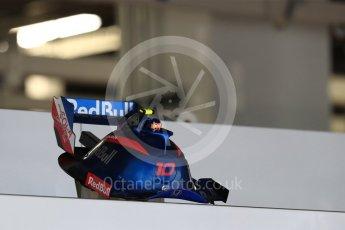 World © Octane Photographic Ltd. Formula 1 – Japanese GP - Practice 3. Scuderia Toro Rosso STR13 – Pierre Gasly. Suzuka Circuit, Japan. Saturday 6th October 2018.