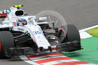 World © Octane Photographic Ltd. Formula 1 – Japanese GP - Qualifying. Williams Martini Racing FW41 – Sergey Sirotkin. Suzuka Circuit, Japan. Saturday 6th October 2018.